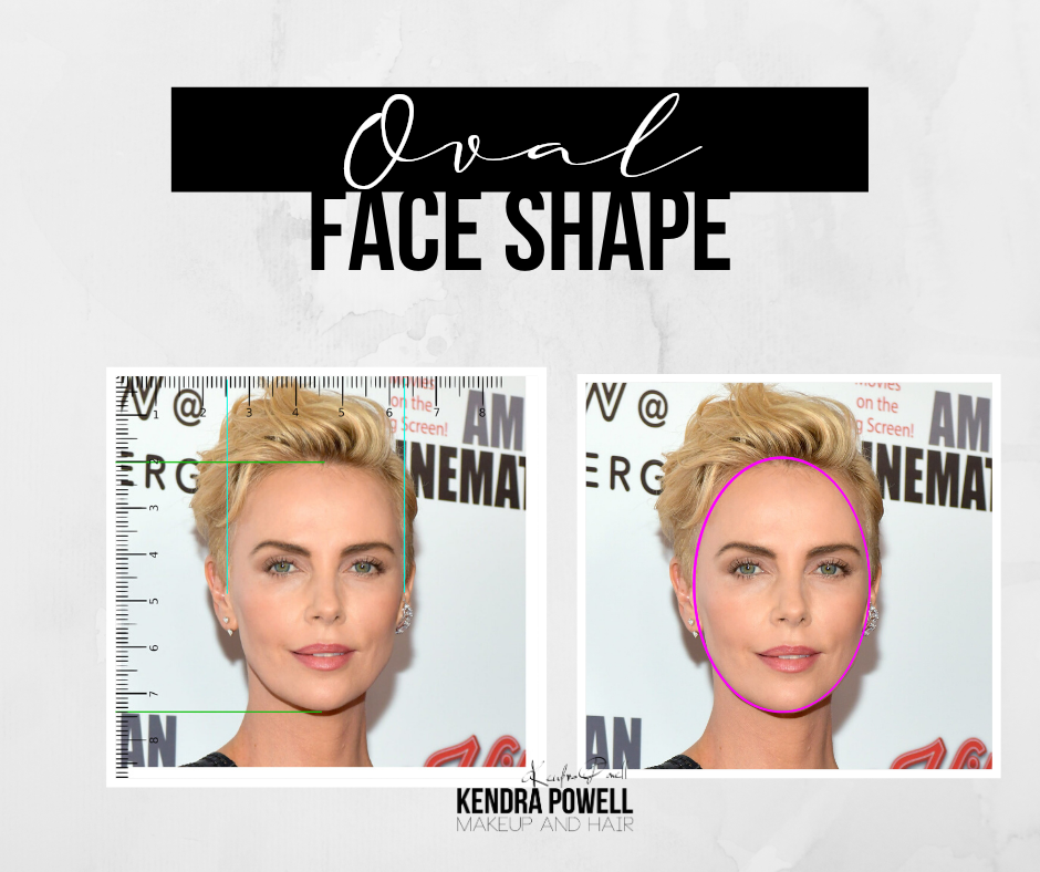 What's Your Face Shape? | Oval Face Shape | Makeup & Hair by Kendra