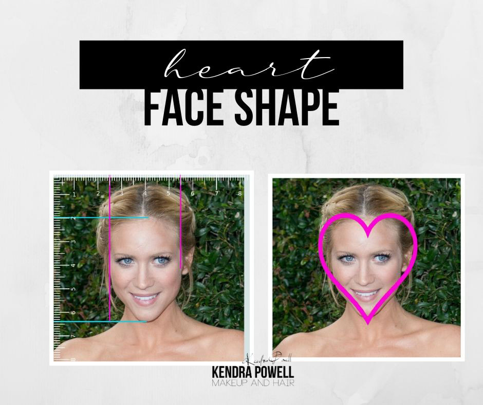 What's Your Face Shape? | Heart Face Shape | Makeup & Hair by Kendra