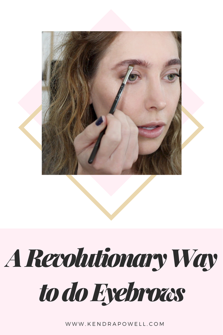 A Revolutionary Way To Do Eyebrows