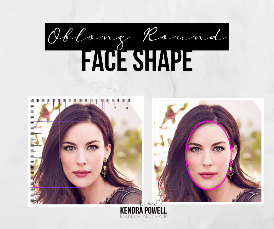 What's Your Face Shape? | Oblong Round Face Shape | Makeup & Hair by Kendra