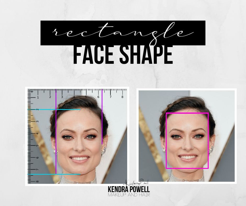 What's Your Face Shape? | Rectangle Face Shape | Makeup & Hair by Kendra