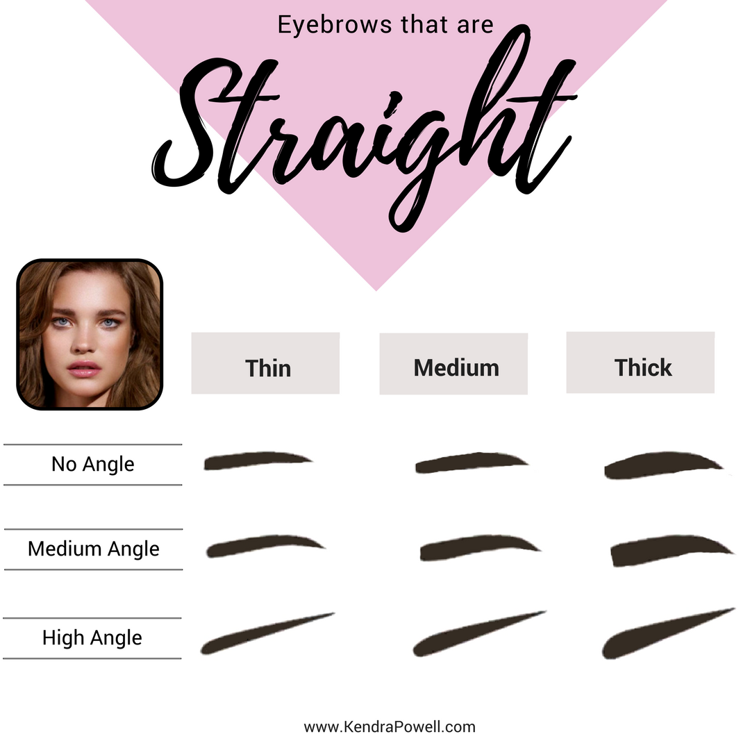 Everything Eyebrows | Straight Eyebrow Shape